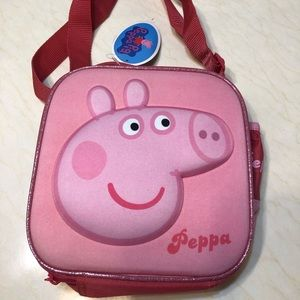 NWT Peppa Pig Lunch Bag One Size